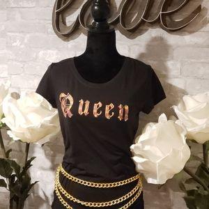 African Print Queen Shirts